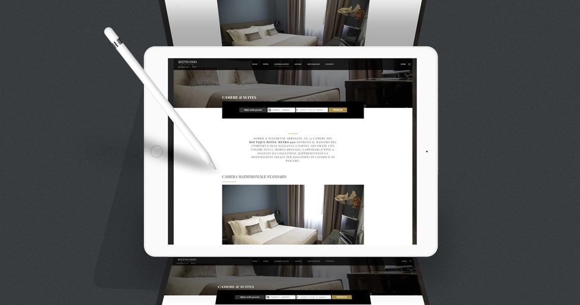 Hotel Metro900 / Site