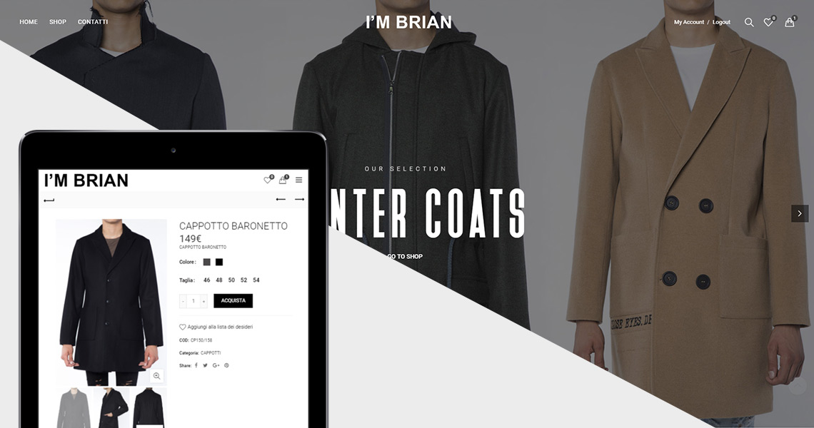 I'm Brian / E-Commerce